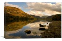 Ullswater Reflections , Canvas Print