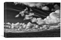 Windy Skies Over the Isle of Lewis, Canvas Print