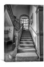 The Stairway., Canvas Print
