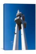 Žižkov Television Tower, Canvas Print
