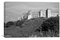 Bamburgh Castle, Canvas Print