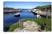 Ballintoy Harbour, Canvas Print