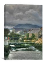 Annalong, Corn Mill, County Down, Canvas Print