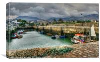 Annalong Harbour, County Down, Canvas Print