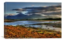 Dundrum Evening, Canvas Print