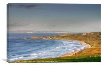 Whitepark Bay, County Antrim, Canvas Print