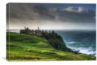 Dunluce Restoration, Canvas Print