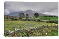 Old Mourne Homestead, Canvas Print