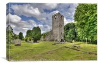Magheralin Old Church, Canvas Print