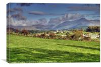 The Kingdom of Mourne, Canvas Print