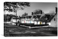 Lindseyville Cottages, Cookstown, Canvas Print
