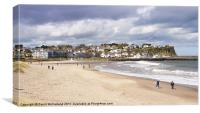 Bracing Ballycastle, Canvas Print