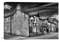 OLD NAGS HEAD, EDALE, Canvas Print