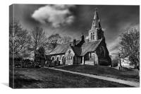 HOLY TRINITY CHURCH, EDALE 2011, Canvas Print
