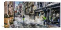 City of York Street Clean, Canvas Print