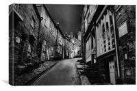 King Street, robin hoods bay 2011, Canvas Print