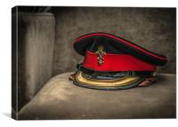The Captains Cap, Canvas Print