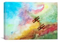 The Breitlings, Canvas Print
