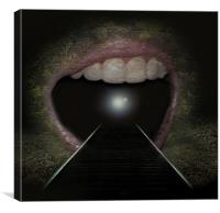 Mouth of the Tunnel, Canvas Print