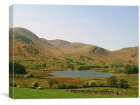 Views from a day in The Lake District., Canvas Print