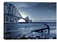Forth Rail Bridge Scotland, Canvas Print
