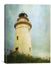 Paphos Lighthouse, Cyprus, Canvas Print