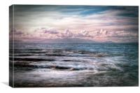 The Tide At Troon, Canvas Print