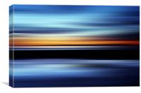 Seaside Abstract, Canvas Print
