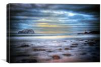 Bass Rock North Berwick, Canvas Print