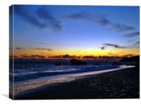 Aphrodite's Sunset, Canvas Print