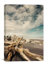 Hokitika Beach, Canvas Print