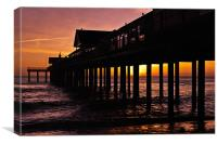 Southwold Pier, Canvas Print
