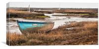 The Ferry at Brancaster Staithe, Canvas Print