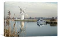 Thurne Mill, Canvas Print