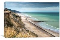 Overstrand, Norfolk, Canvas Print
