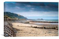 Overstrand Beach, Canvas Print