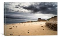 Hemsby Lifeboat Shed, Canvas Print