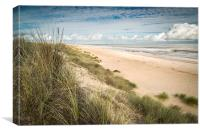 Facing Winterton, Canvas Print