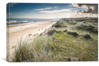 South to Hemsby, Canvas Print