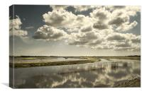 River Thurne and Upton Marshes, Canvas Print