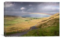 Rainbow in the Yorkshire Dales, Canvas Print