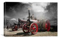 Steaming, Canvas Print