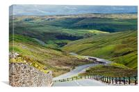 Over the moors, Canvas Print