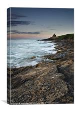 The Old Bathing House, Canvas Print