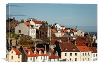 Pittenweem Roofs, Canvas Print