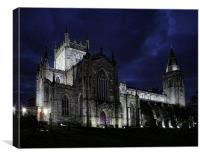 Dunfermline Abbey at night, Canvas Print