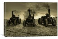 The three Beasties .!, Canvas Print