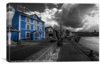 The Harbourmaster Hotel, Canvas Print