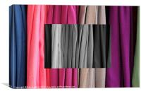 Colour of the Cloth, Canvas Print