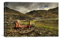 Industrial Remains, Canvas Print
